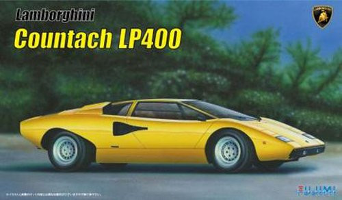 Fujimi RS-8 Lamborghini Countach LP400 1/24 scale kit