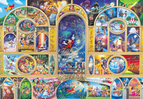 Tenyo Japan Jigsaw Puzzle DSG-500-410 Disney All Character Dream (500 Pieces)