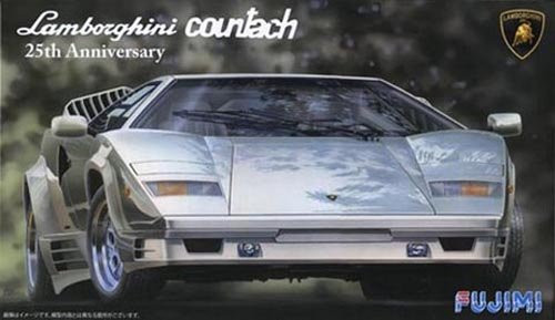 Fujimi RS-60 Lamborghini Countach 25th Anniversary 1/24 scale kit