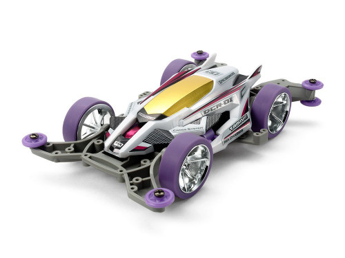 Tamiya 95372 Mini 4WD DCR-01 Purple Special MA Chassis