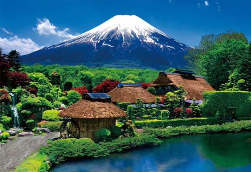 Beverly Jigsaw Puzzle 33-145 Japanese Scenery Mt Fuji Oshino Yamanashi (300 Pieces)
