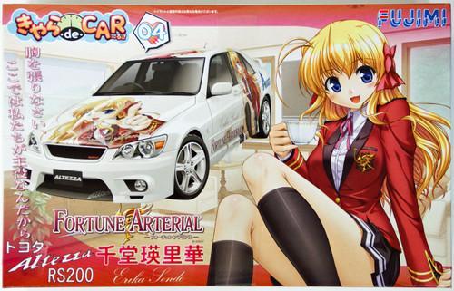 Fujimi CD04 Toyota Altezza RS200 Fortune Arterial Sendo Erika 1/24 Scale Kit