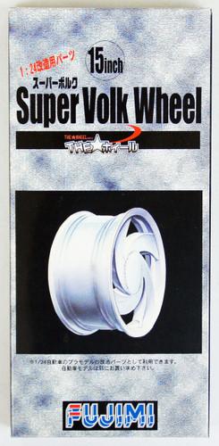Fujimi TW01 Super Volk Wheel & Tire Set 15 inch 1/24 Scale Kit