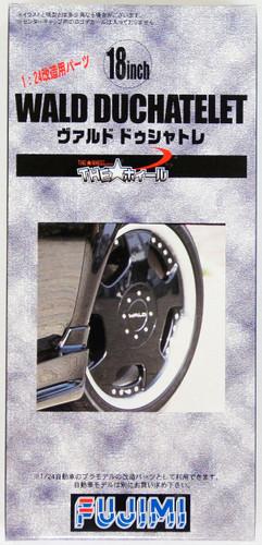 Fujimi TW45 WALD DUCHATELET Wheel & Tire Set 18 inch 1/24 Scale Kit