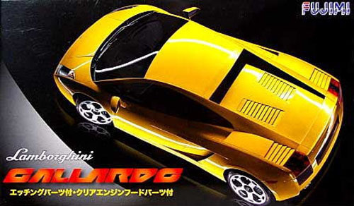 Fujimi RS-SPOT 123790 Lamborghini Gallardo DX with Etching Parts 1/24 Scale Kit