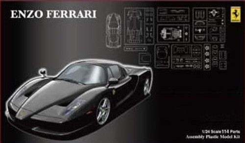 Fujimi RS-SPOT 123936 Enzo Ferrari Black DX with Etching Parts 1/24 Scale Kit