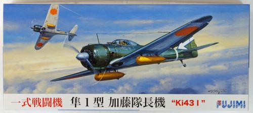 Fujimi C01 Ki43 I Hayabusa (Oscar) Commander Kato 1/72 Scale Kit
