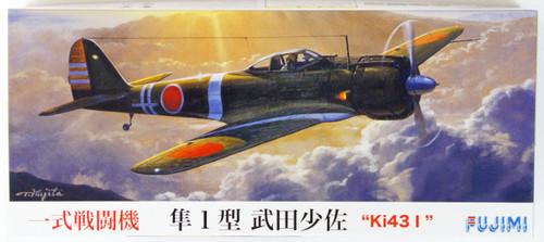 Fujimi C03 Ki43 I Hayabusa (Oscar) Lieutenant Takeda 1/72 Scale Kit