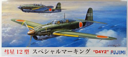Fujimi C04 D4Y2 Suisei (Judy) Model 12 SP Marking 1/72 Scale Kit