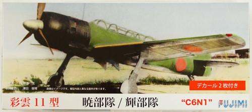 Fujimi C14 Nakajima C6N1 Saiun (MYRT) Type 11 1/72 Scale Kit 722580