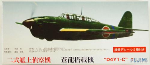 Fujimi C16 Yokosuka D4Y1-C Suisei (JUDY) 1/72 Scale Kit 722603