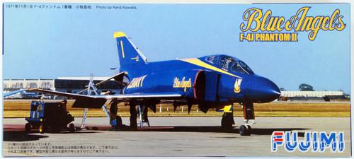Fujimi F34 F-4J PHANTOM II Blue Angels 1/72 Scale Kit