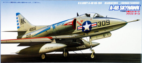 Fujimi F40 US Navy A-4B Skyhawk Gladiators 1/72 Scale Kit