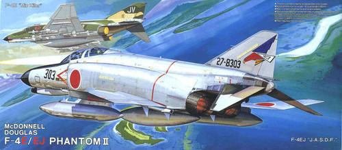 Fujimi K2 F-4E/EJ Phantom II JASDF 1/72 Scale Kit
