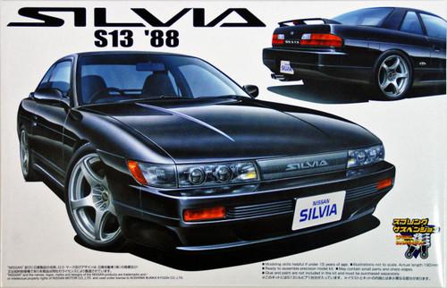 Aoshima 39304 Nissan Silvia S13 1988 1/24 Scale Kit