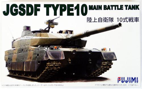 Fujimi 72M3 JGSDF Type 10 Main Battle Tank 1/72 Scale Kit 722306