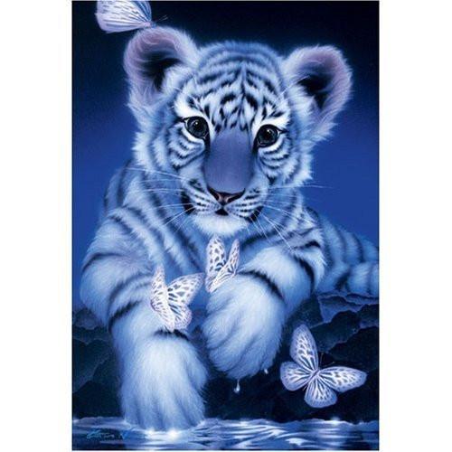 Epoch Jigsaw Puzzle 08-008 Illustration Kentaro Nishino Tiger (450 S-Pieces)