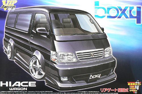 Aoshima 45626 Toyota Hiace (100) boxy Design 1/24 Scale Kit