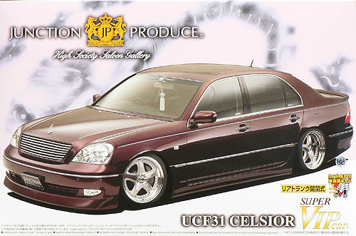 Aoshima 46944 Toyota Celsior UCF31 Junction P 1/24 Scale Kit