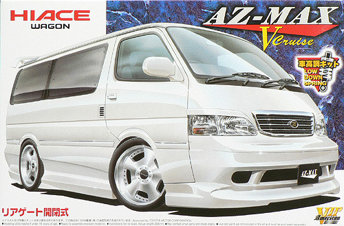 Aoshima 46975 Toyota Hiace AZ-Max V Cruise Design 1/24 Scale Kit