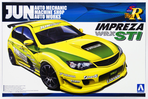 Aoshima 50552 Subaru GRB Impreza WRX STI JUN Version 1/24 Scale Kit