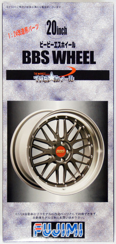 Fujimi TW57 BBS Wheel Wheel & Tire Set 20 inch 1/24 Scale Kit