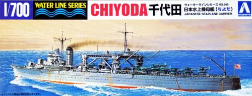 Aoshima Waterline 45459 IJN Seaplane Carrier CHIYODA 1/700 Scale Kit