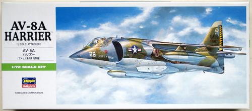 Hasegawa B10 AV-8A Harrier 1/72 Scale Kit