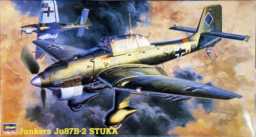 Hasegawa JT13 JUNKERS Ju87B-2 STUKA 1/48 Scale Kit