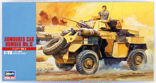 Hasegawa MT25 ARMOURED CAR HUMBER Mk.II 1/72 Scale Kit