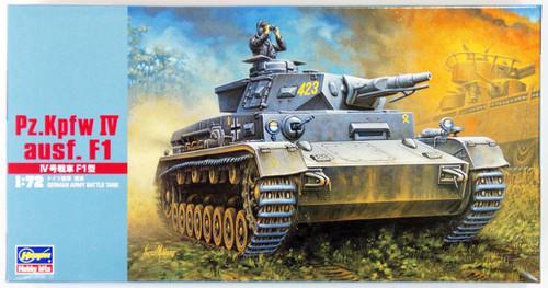 Hasegawa MT41 Pz.Kpfw IV ausf. F1 TANK 1/72 Scale Kit