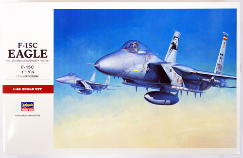 Hasegawa PT49 F-15C EAGLE (US Air Force Air Superiority Fighter) 1/48 Scale Kit