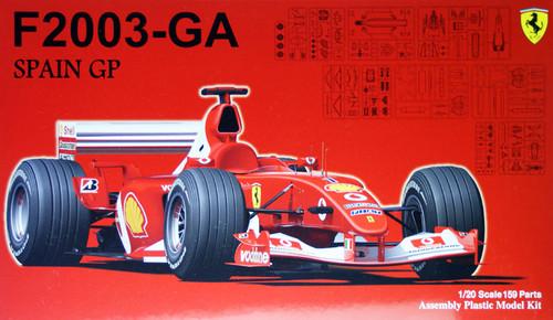 Fujimi GP36 090917 F1 Ferrari F2003-GA Spain GP 1/20 Scale Kit