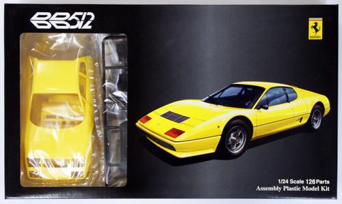 Fujimi RS-SPOT 123301 Ferrari 512BB Yellow Body 1/24 Scale Kit