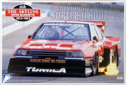 Aoshima 41833 Nissan Skyline Super Silhouette (KDR30) 1982 1/24 Scale Kit