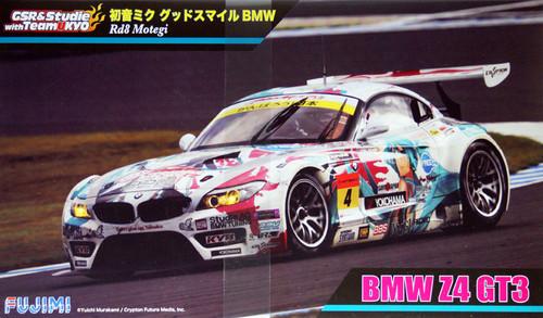Fujimi 189857 BMW Z4 GT3 Hatsune Miku Good Smile (Rd8 Motegi) 1/24 Scale Kit