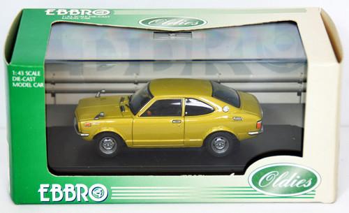 Ebbro 43237 Toyota Sprinter Trueno (Gold) 1/43 Scale