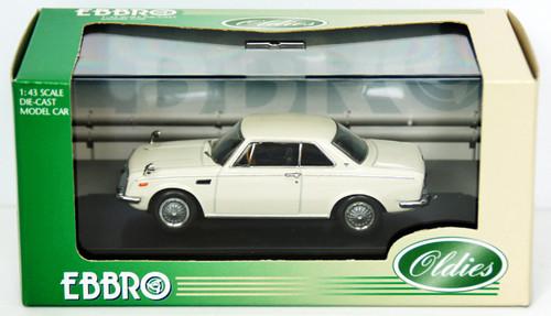 Ebbro 43366 Toyota 1600GT 5 (White) 1/43 Scale