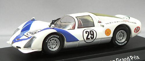 Ebbro 43636 Porsche 906 Japan GP 1968 (White) 1/43 Scale