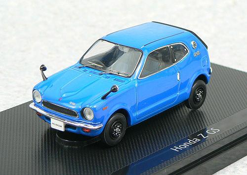 Ebbro 43661 HONDA Z 360 1970 Blue 1/43 Scale