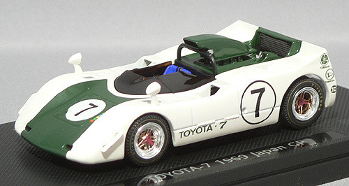 Ebbro 43667 Toyota 7 Japanese GP 1969 No.7 (White/Green) 1/43 Scale