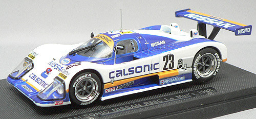 Ebbro 43680 Nissan Calsonic R88 Le Mans 1988 No.23 (White/Blue) 1/43 Scale