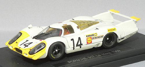 Ebbro 43750 PORSCHE 917 LONG TAIL LE MANS 1969 #14 1/43 Scale