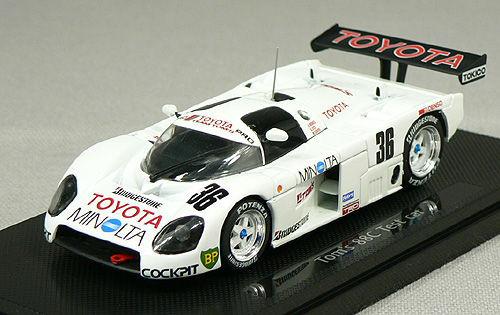 Ebbro 43789 TOYOTA TOM'S 88C TEST CAR LE MANS 1/43 Scale