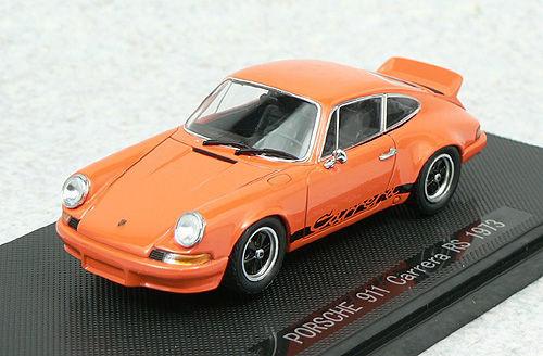 Ebbro 43885 PORSCHE 911 Carrera RS 1973 Orange 1/43 Scale