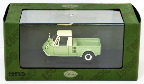Ebbro 44009 Mazda K360 3Wheel Truck 1962 (L.Green) 1/43 Scale