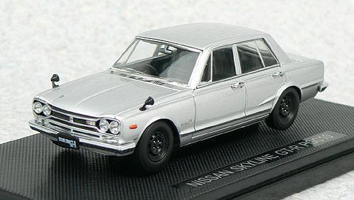 Ebbro 44022 NISSAN SKYLINE GT-R PGC10 Silver 1/43 Scale