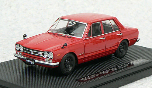 Ebbro 44024 NISSAN SKYLINE GT-R PGC10 Red 1/43 Scale