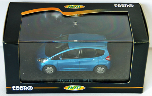 Ebbro 44106 Honda Fit (Light blue) 1/43 Scale