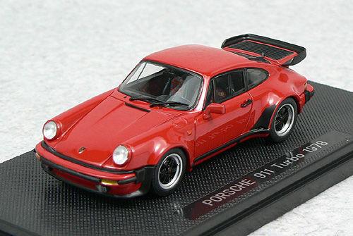 Ebbro 44142 PORSCHE 911 TURBO 1978 Red 1/43 Scale